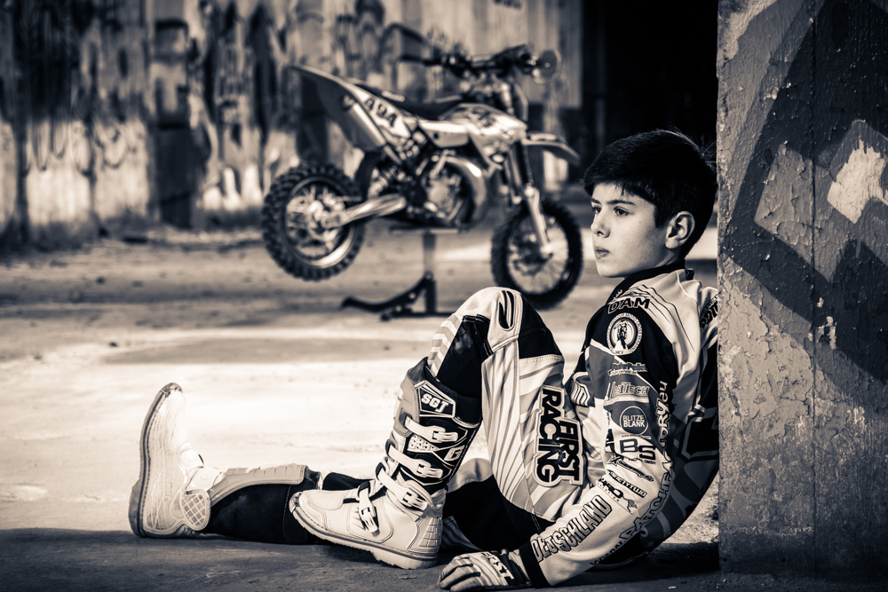 Sportlerportrait Motocross