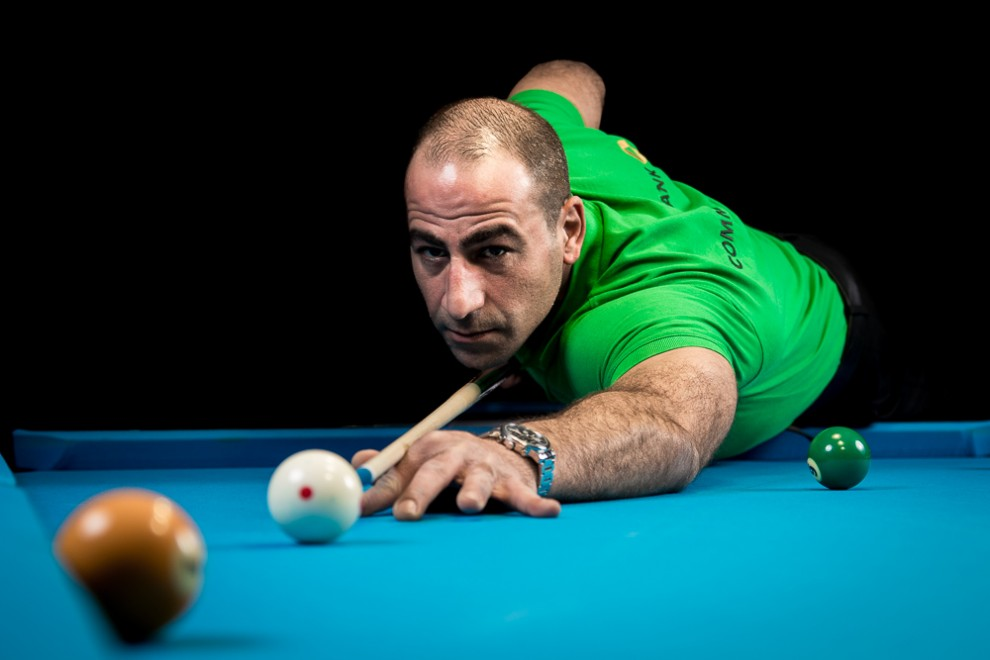 Sportlerportrait Billard Sami