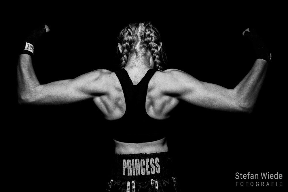 Sportlerportrait - Die schlagkräftige Prinzessin