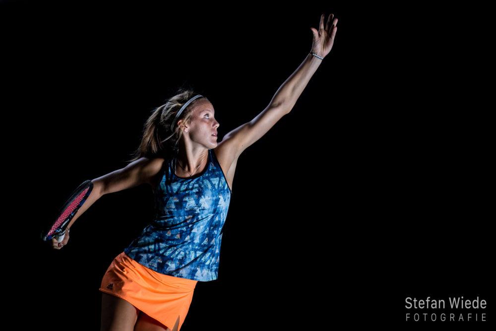 Sportportrait Tennis - Katrin und Anna