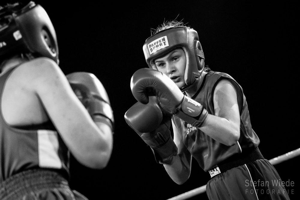 Fight Night mit Sarah Liegmann