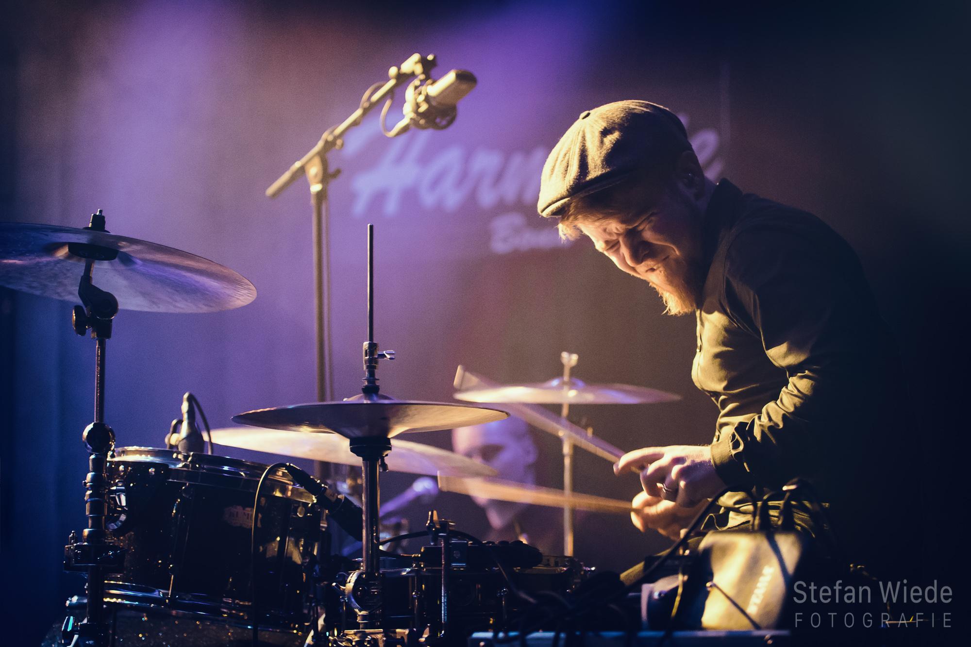 Schlagzeuger Musikfotografie