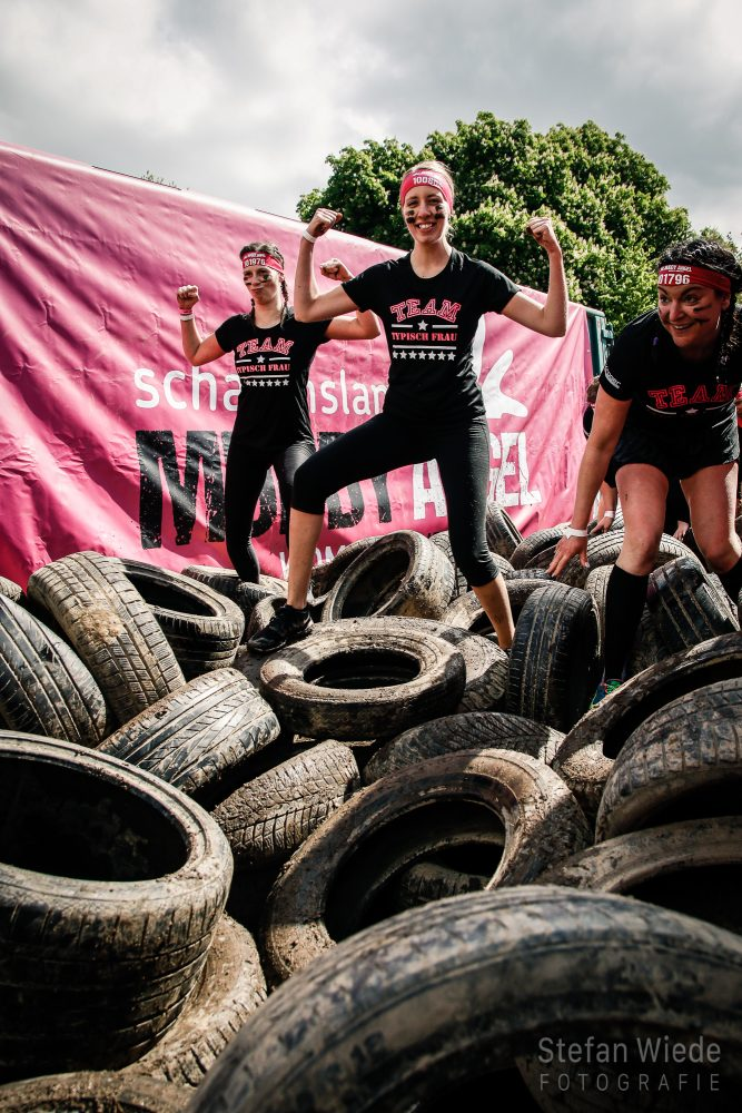 Ein starkes Team beim Muddy Angel Run 2019 in Bad Hönningen