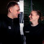 Sportlerportraits mit Florian und Kathrin